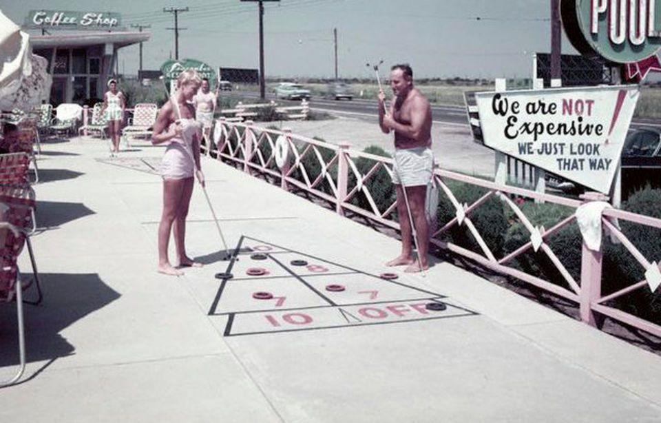 1957 At The Seacomber Motel In Atlantic City Atlantic City City Vintage Road Trip