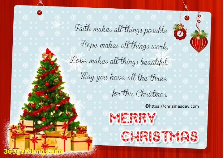 Christmas Greetings Faith Merry Christmas Wishes Merry