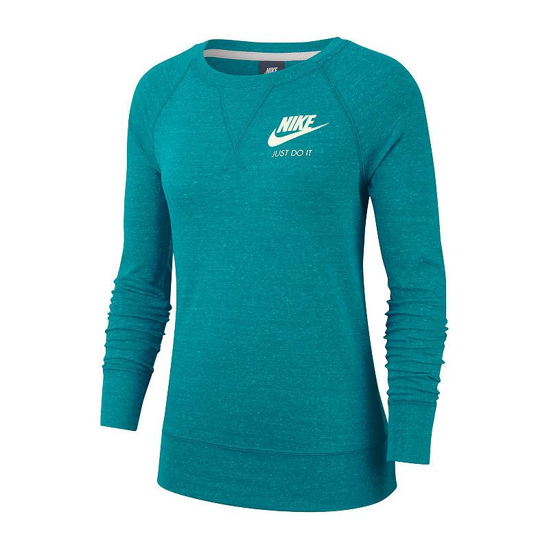 Nike Nsw Gym Vintage Ls Crew Tee Womens Crew Neck Long