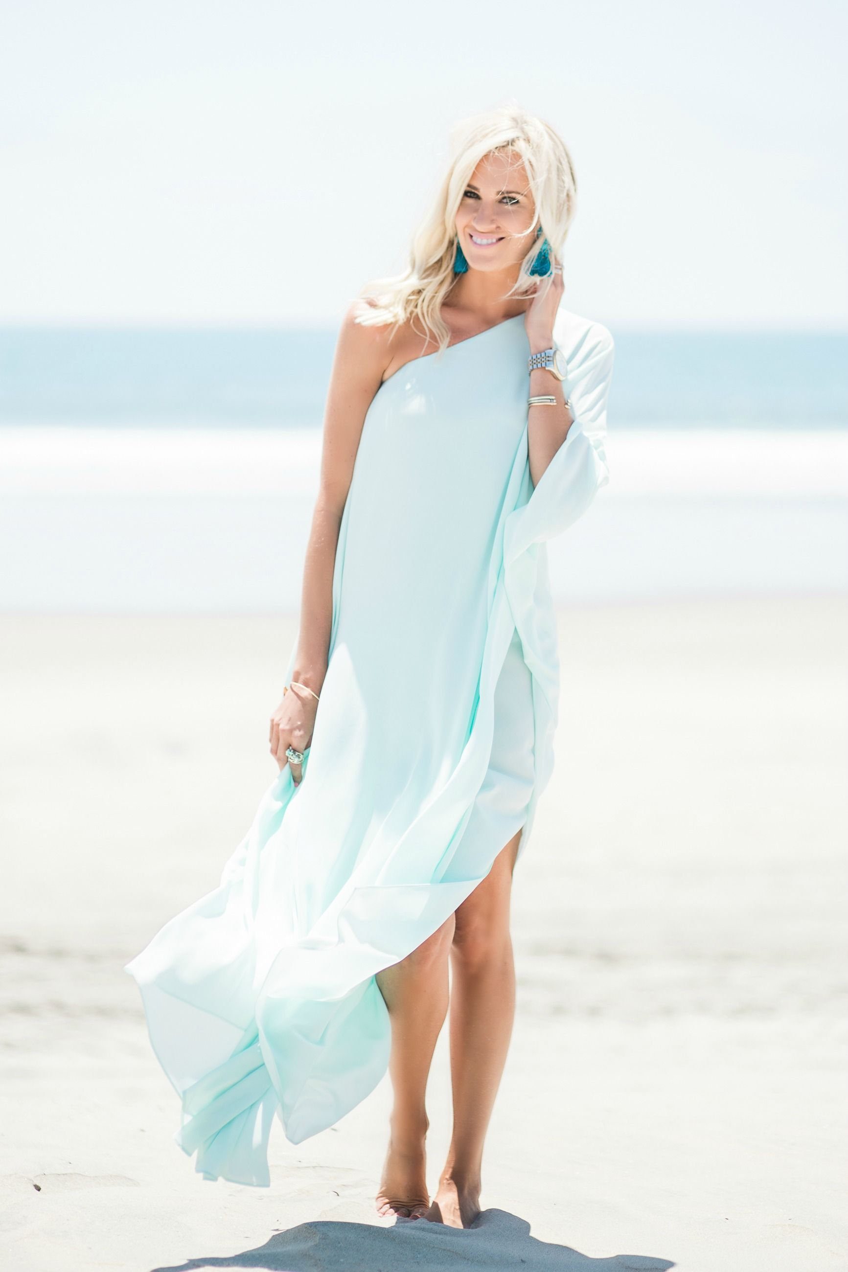 Light Blue Beach Maxi Dress - Mckenna Bleu | My Style / McKenna Bleu ...