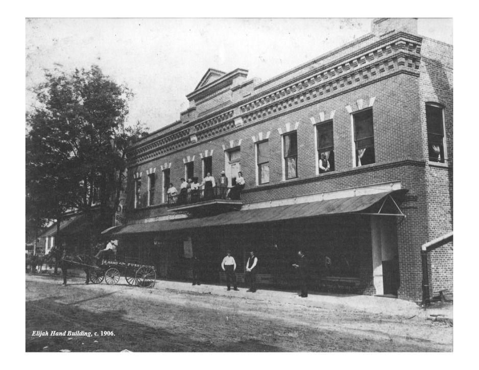 The Elijah Hand Building was constructed in 1905. See what