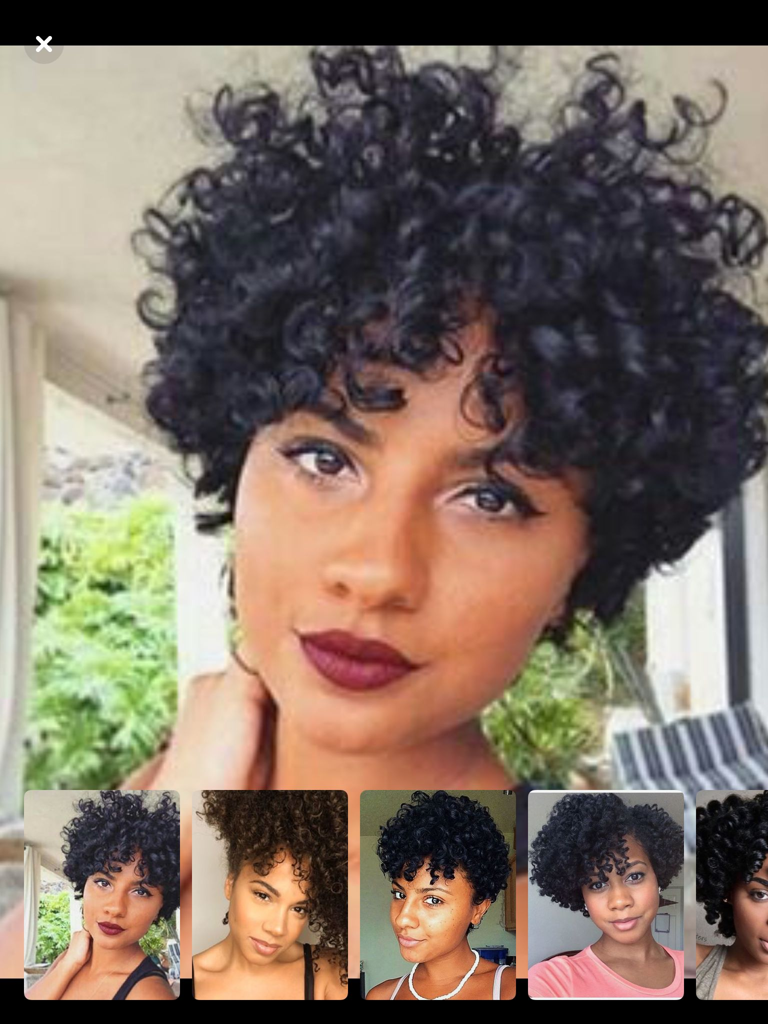 Pin By Dee On Super Cute Haircuts Short Curly Weave Short Hair Waves Hair Styles