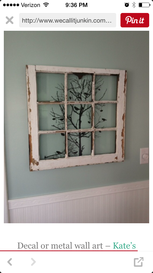 Pin By Aghavni Boatright On Window Window Crafts Old Windows Home Diy