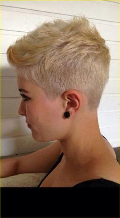 Super Kurze Pixie Blonde Frisur Trend Haarschnitt Haarschnitt Kurz Frisur Ideen