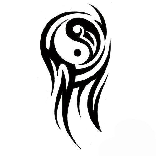 Google Image Result For Tattoowoo Com Tribal Shoulder Tattoos Meanings African Tribal Shoulder Tat Yin Yang Tattoos Tribal Tattoos Tribal Tattoo Designs