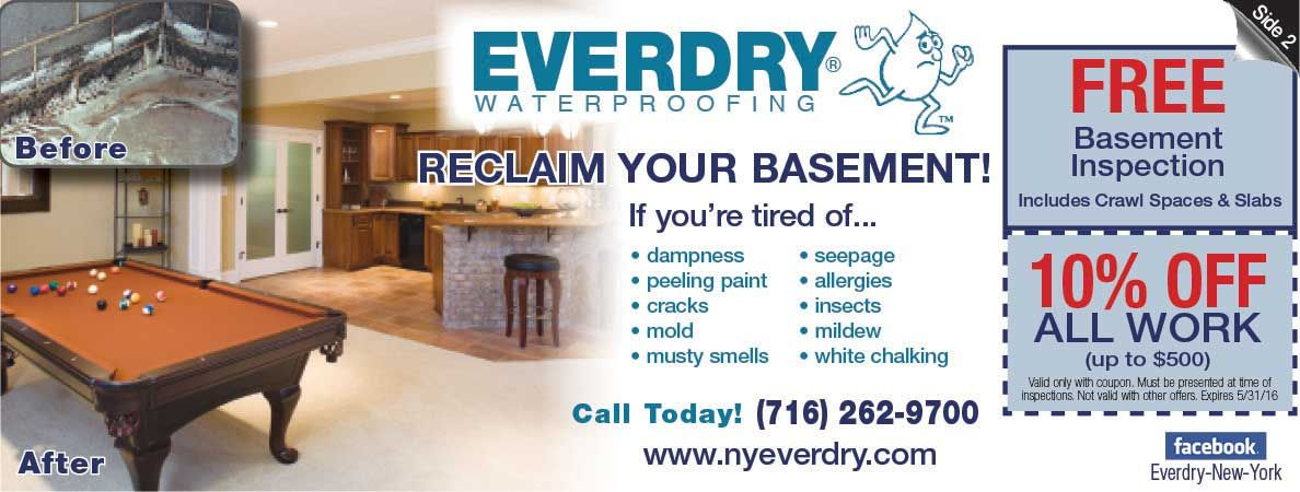 everdry basement waterproofing will help you save on your basement rh pinterest com Dry Basement Solutions ever dry basement systems