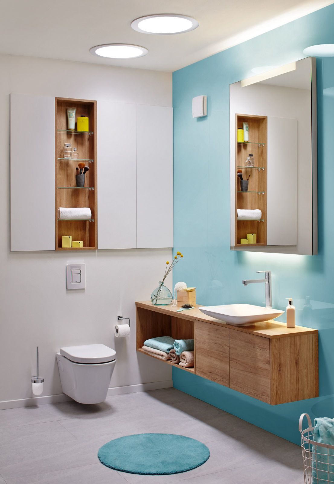 r ckwandverkleidung hinter dem waschbecken teil 2 f r die zeitschrift wohnbaden von sch n und. Black Bedroom Furniture Sets. Home Design Ideas