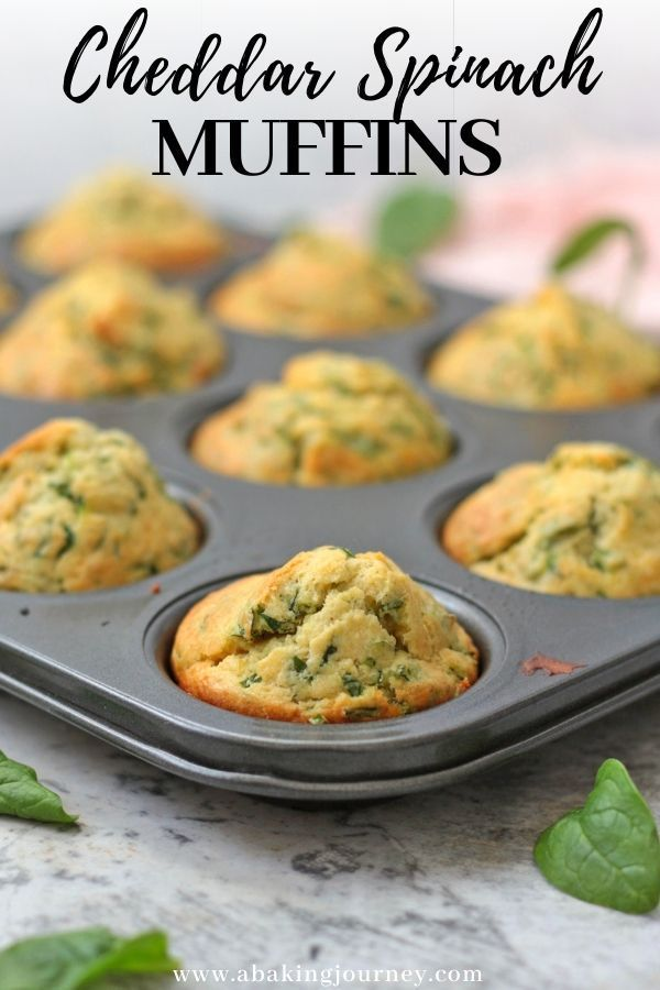 Cheddar and Spinach Muffins