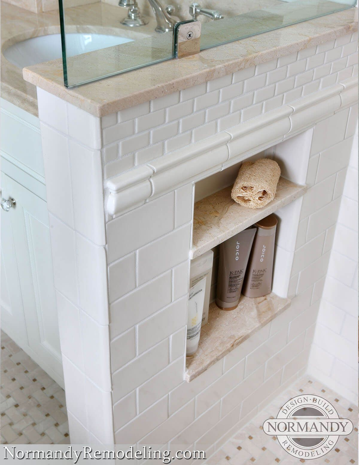 25 Brilliant Built In Bathroom Shelf And Storage Ideas To Keep You Organized With Style Traditional Bathroom Traditional Bathroom Designs Diy Bathroom Makeover