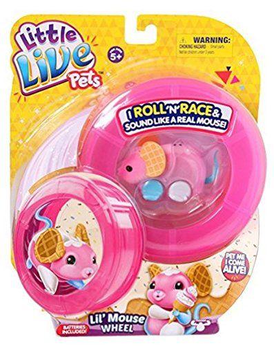 Little Live Pets Little Live Pets Lil Mouse Wheel Waffles