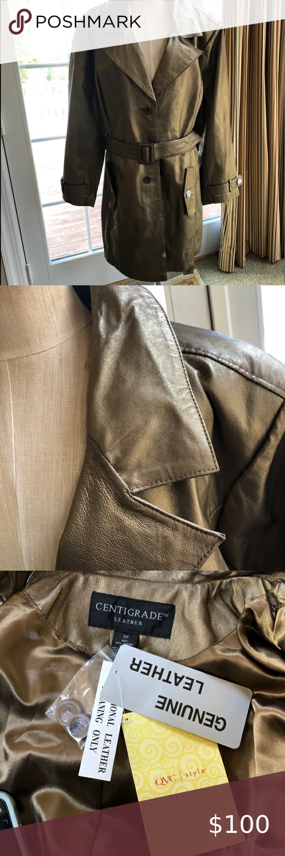 Centigrade Leather Trenchcoat Vintage Leather Jacket Embroidered Leather Jacket Burgundy Leather Jacket [ 1740 x 580 Pixel ]