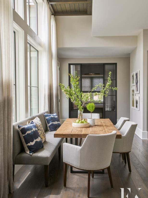 Pro grade appliances and tons of countertop workspace storage space make this contemporary kitchen  cook   dream an large eat in island breakfast also decor idea for stand alone benches it on the table rh pinterest