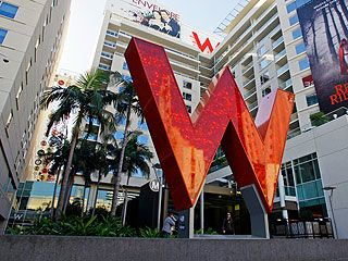 The W Hollywood Is Just One Of Spots Stars Pick Up Top