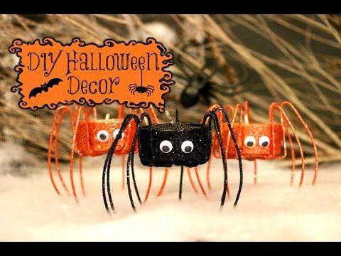 DIY Spooky Halloween Decorations - YouTube Halloween Pinterest