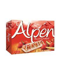 Alpen-myslipatukat: mansikkajogurtti, vadelmajogurtti tai joku muukin maku käy.