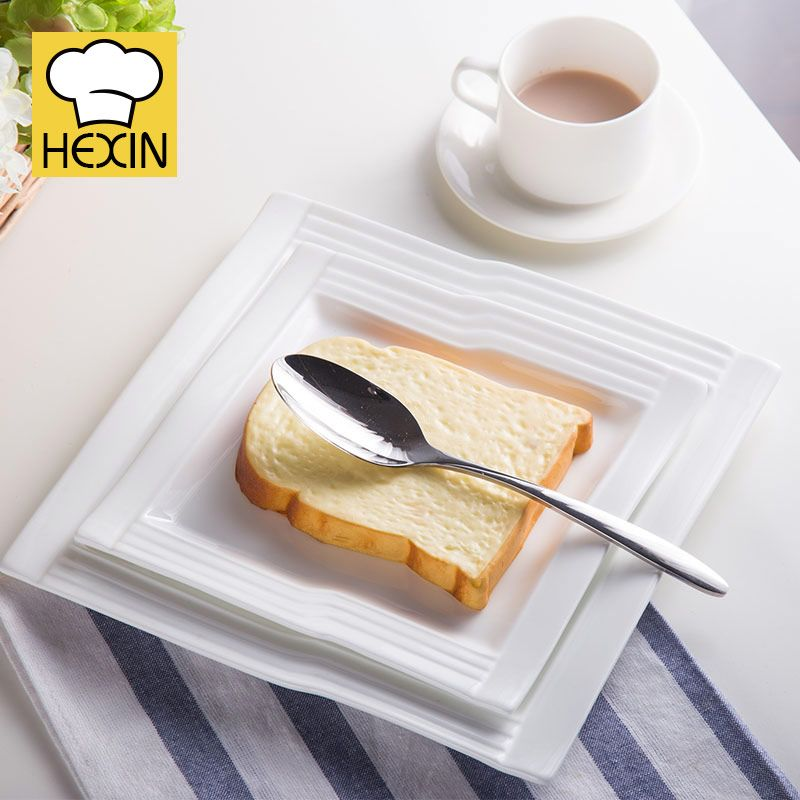 square cake plate is unusual dinnerware. High quality u0026 durable cake plates in different styles and sizes are perfect for restaurants and caterers. & Square Cake Plate | Unusual Dinnerware | Appetizer Plates | Chinese ...