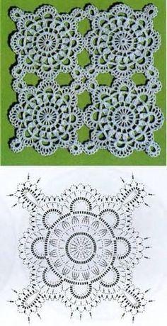 Photo of Crochet World: Motif 198 – # crochet # motif