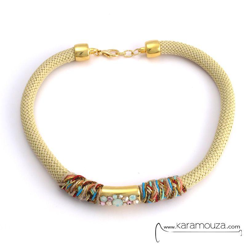 ΚΟΛΙΕ : Angelo Barreta Inkas Glam Necklace