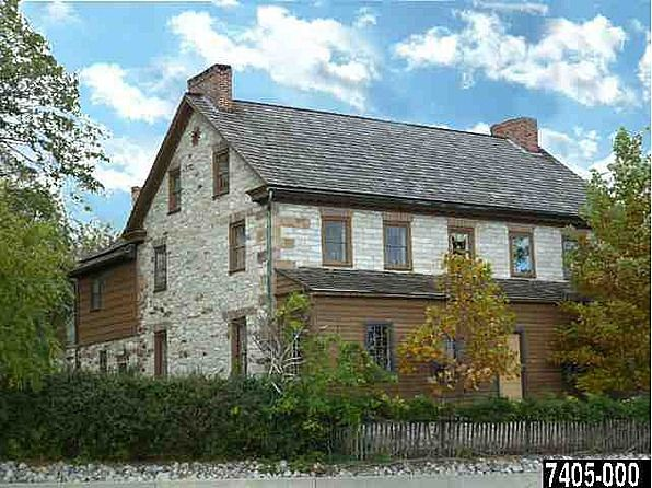 Unbelievably Restored Stone Farmhouse Is One Of A Kind Center Hall Colonial Has