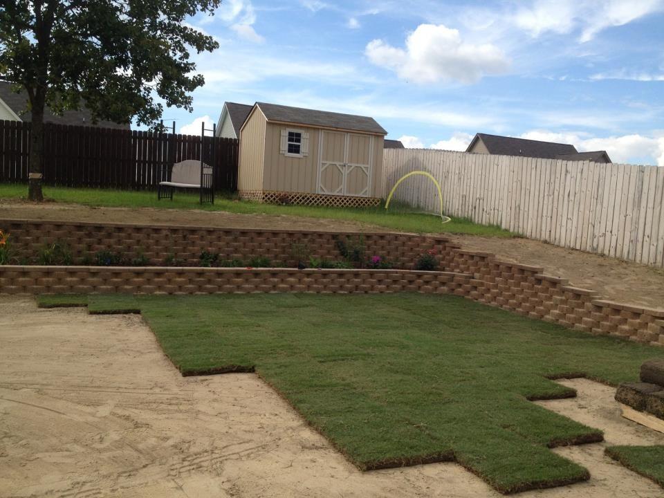 Bermuda Yard Grass Sod InstallBack LawnGarden dBoeCxWr