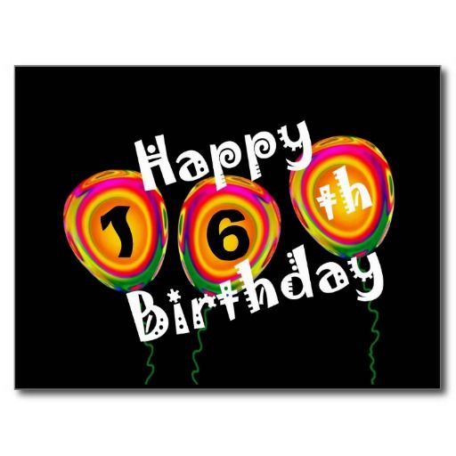 Best 25 Birthday Words Ideas On Pinterest: Best 25+ Happy 16th Birthday Ideas On Pinterest