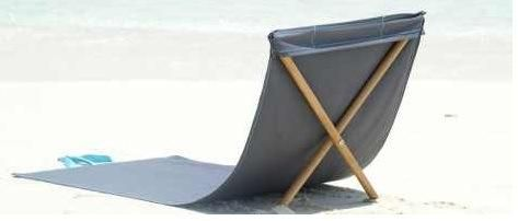 French Roll Up Beach Chair