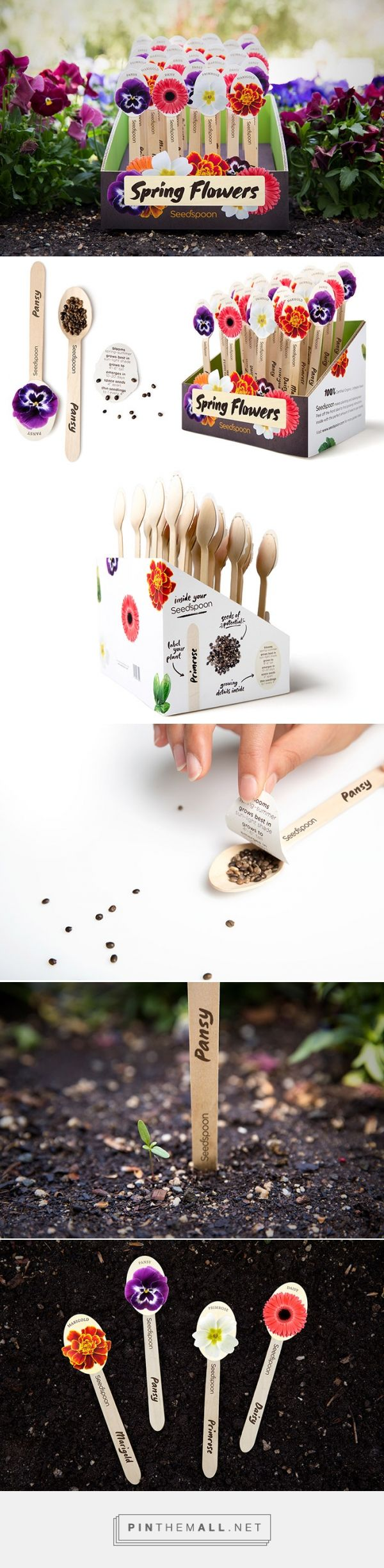 Seedspoon via InspirationDaily curated by Packaging Diva PD. Love this clever seed packaging idea.
