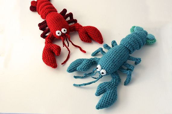 Make Your Own Plush Crochet Lobster With This Wonderful Crochet