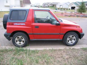 1996 Geo Tracker Chevrolet Cool Cars Tracker