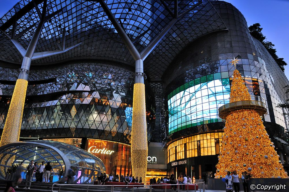 Ion Orchard Singapore Shopping Complex Singapore Travel Shopping Malls Singapore Guide