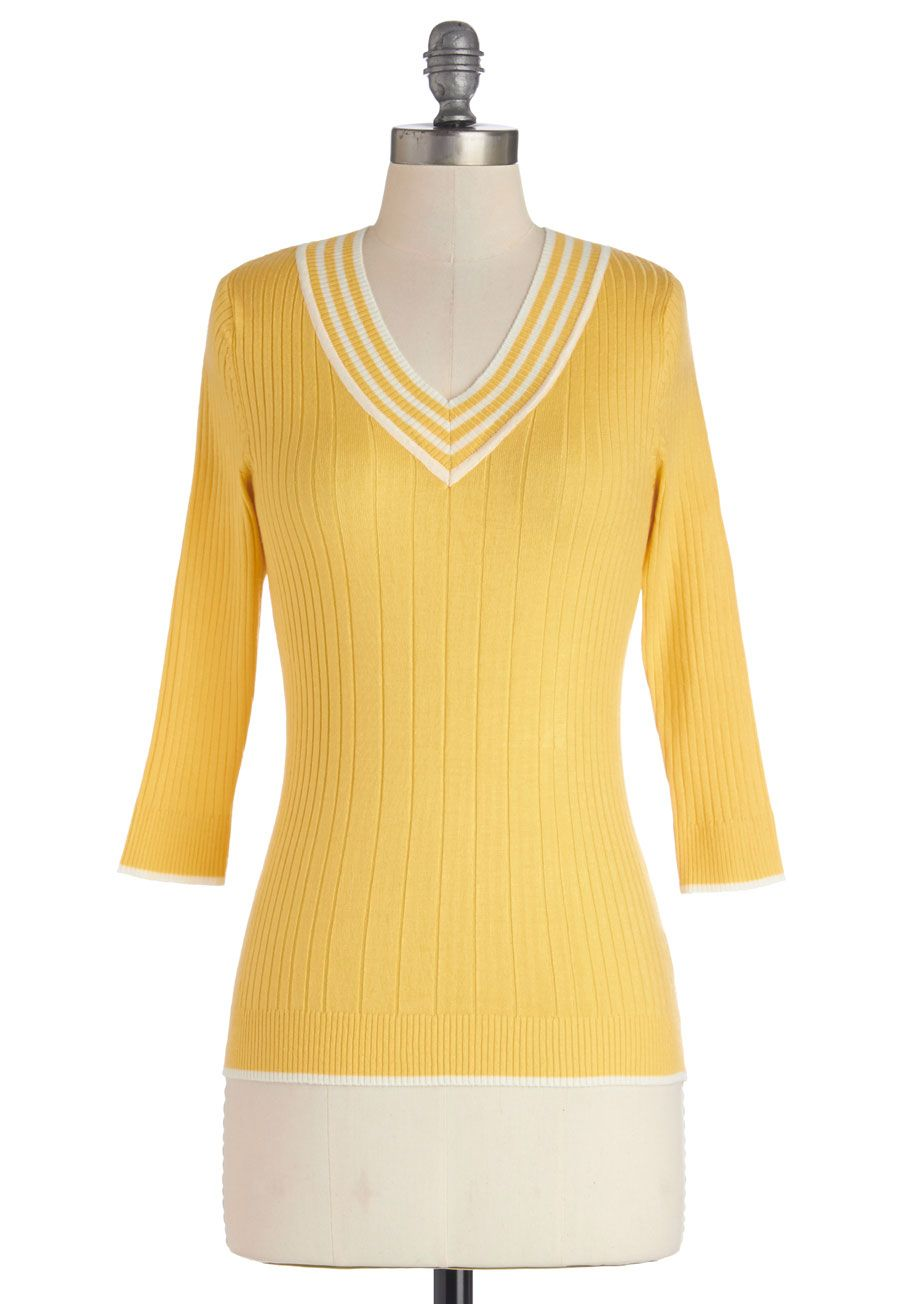 Radiantly Retro Sweater. Channel the winsome effervescence of eras ...