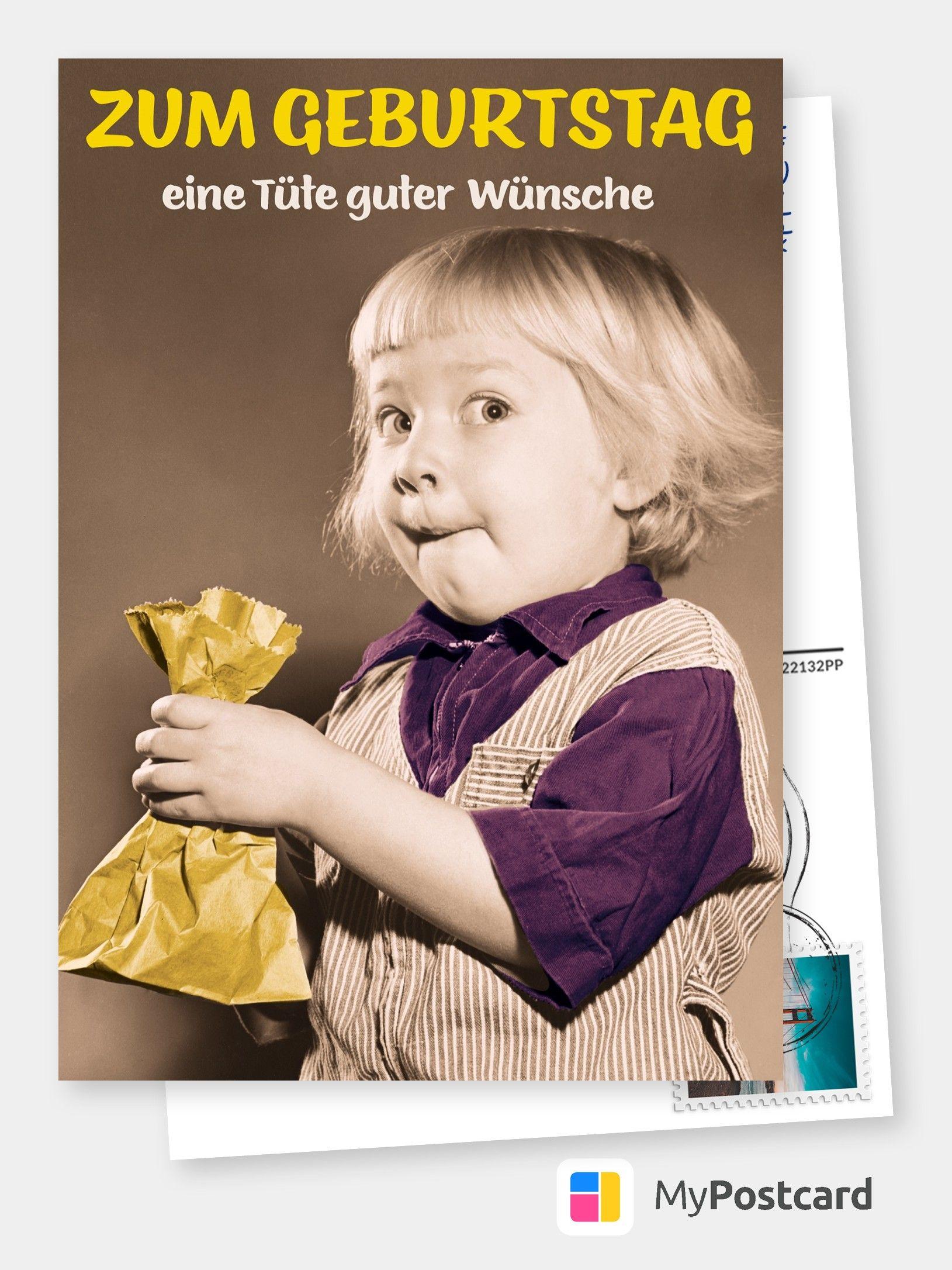 Eine Tute Guter Wunsche Geburtstagswunsche Lustig Frau Spruche