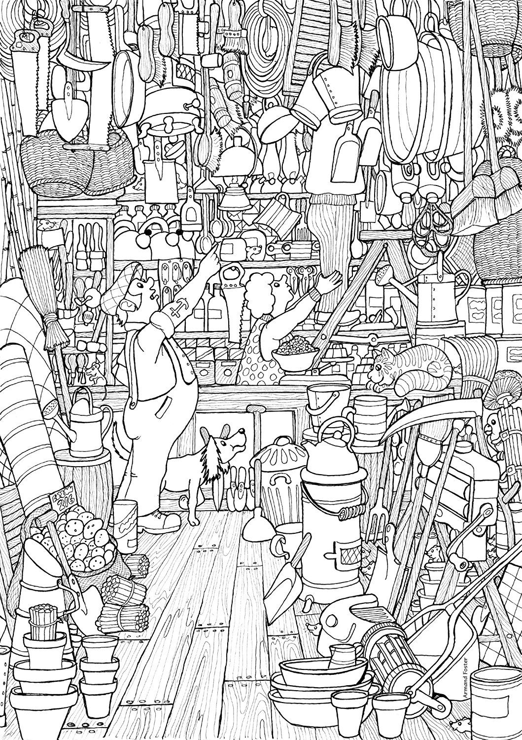 A3 Poster Colouring Pack Book No 1 Armand Foster Amazon Co Uk Office Products Adventure Time Coloring Pages Coloring Pages Coloring Books