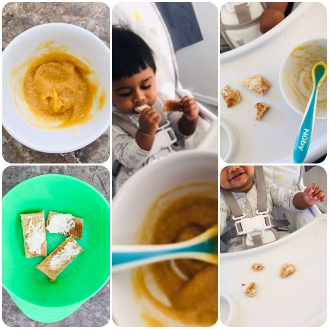 "Mum's Style on Instagram: ""•baby food #28 Breakfast this ..."