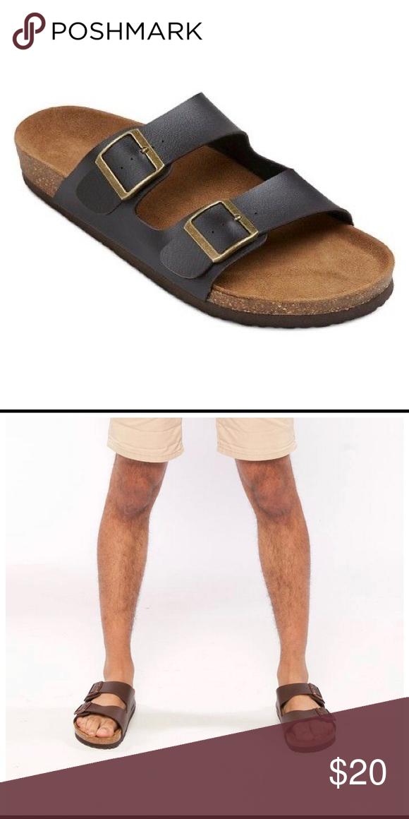 Retorcido Desarmamiento Noticias de última hora  Men's Birkenstock-Style Sandals Brown | Brown sandals, Birkenstock style,  Sandals