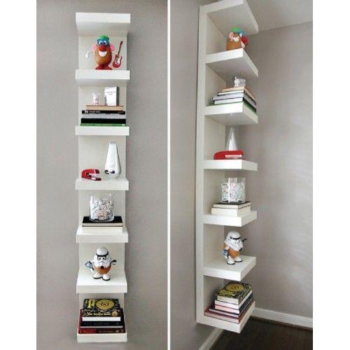 Ikea Lack Wall Shelf Unit 30x190cm White Storage