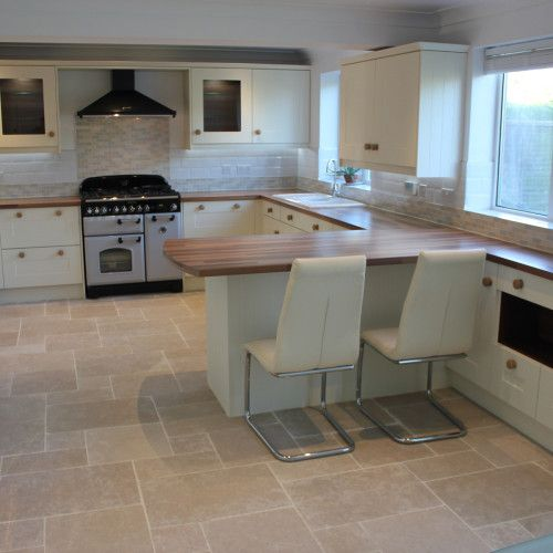 Cream Kitchen Black Worktops: Image Result For RangemaSter In A White Kitchen With
