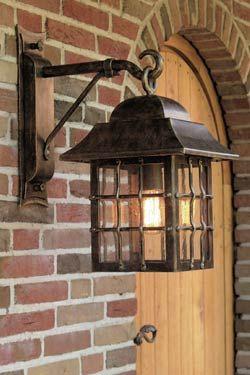 applique lanterne suspendue en fer forg patin pour l