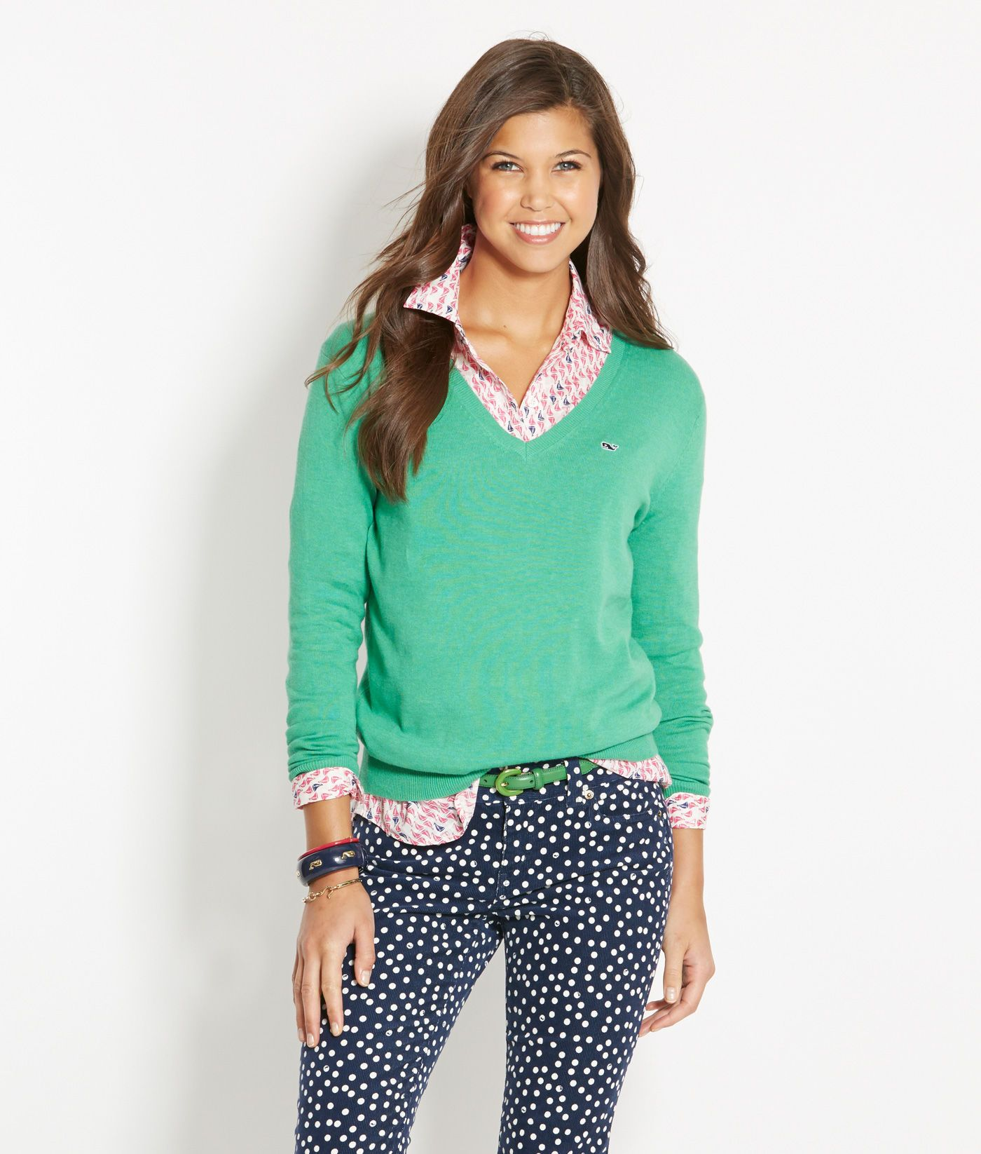 Shop Sweaters: Candlewood V-Neck Sweater for Women | Vineyard ...