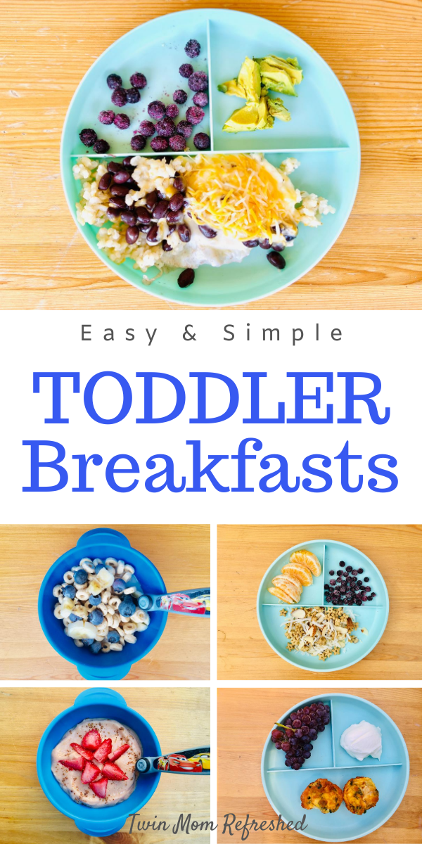 Easy Breakfast Ideas For Toddlers Healthy Toddler Meals Toddler Breakfast Picky Toddler Meals