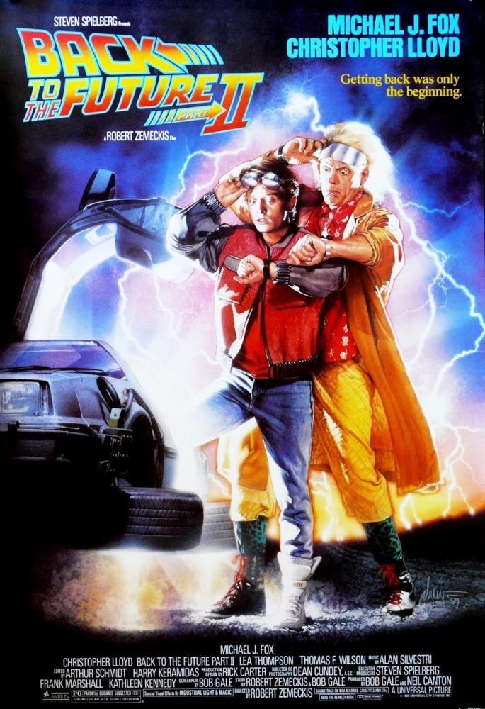 Back to the Future Part II (1989) Zurück in die zukunft