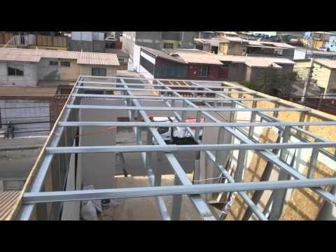 Construcción De Un Tercer Piso En Estructura Metalica Y