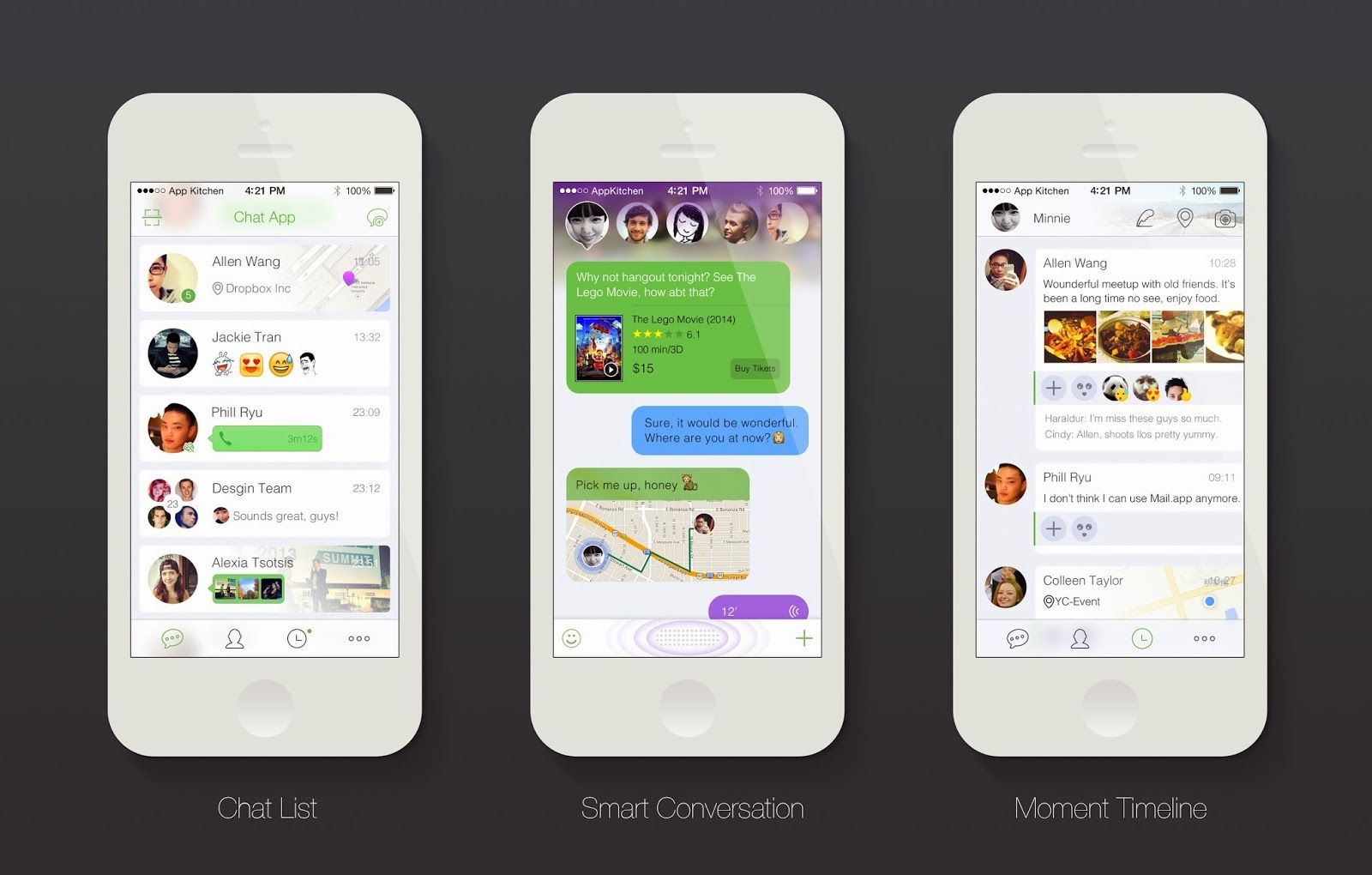 Modern Chat App UI Design