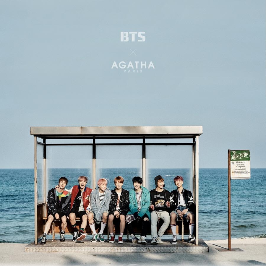 Photo of BTS X AGATHA Backpack (Black)