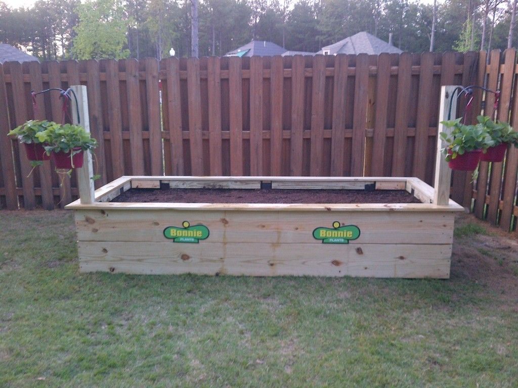 Keith Poche's Raised Bed Planter Raised planter beds