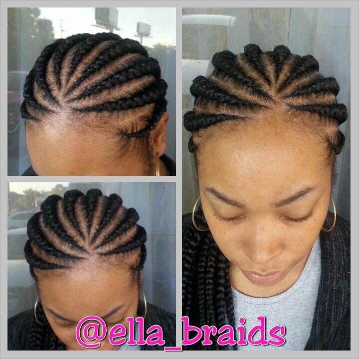 Braids By Design Braids Hairstyles Pictures Braid Styles Braided Bun Black Hair