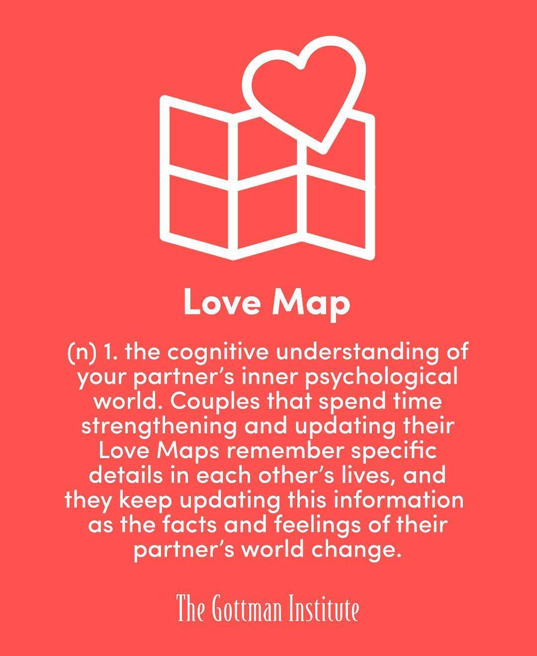 The Principle Of Building Lovemaps Is Simply This