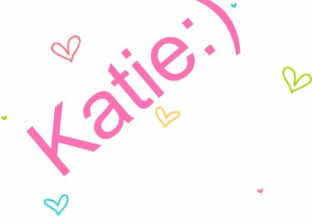 Image gallery for : the name katie in bubble letters ...