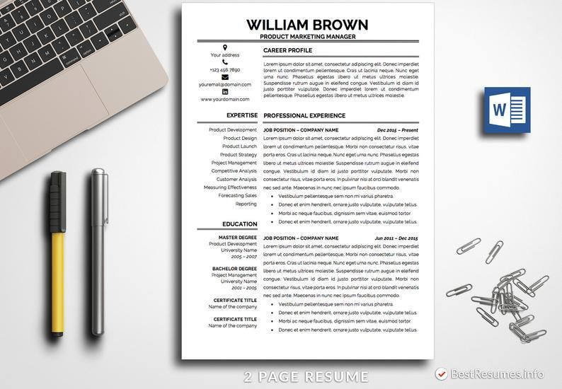 Let's get you a professional resume template together! You