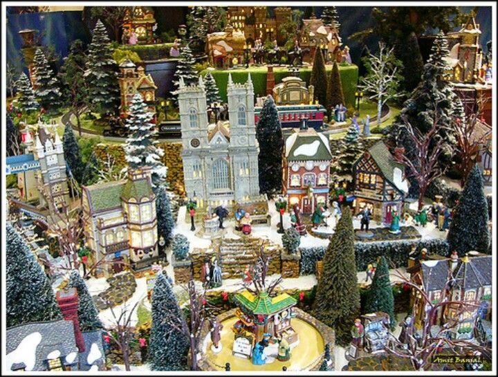Luv It Christmas Village Display Disney Christmas Village